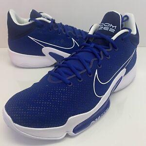 Nike Zoom Rize 2 TB Promo Basketball Shoes CZ5023-404 Rush Blue Men's Size 16