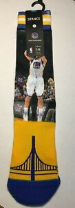 NEW Stance Fusion NBA Golden State Warriors Steph Curry Klay Thompson SZ 9-12 a4