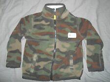 Carter's Boys 24 M Camouflage Zip Up Coat