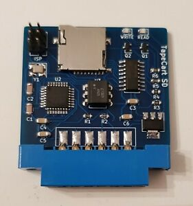 Tapecart SD for Commodore 64 C64. Faster than SD2IEC, Tapuino, PI1541
