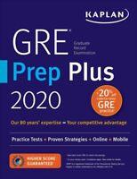 GRE Prep Plus 2020: Practice Tests + Proven Strategies + Online ( DIGITAL)