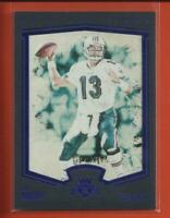 Dan Marino 2015 Panini Gridiron Kings FRAMED BLUE Card # 174 Miami Dolphins HOF