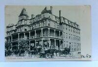 C. 1907 Yarmouth Nova Scotia Canada Grand Hotel Horses Buggies Private Postcard