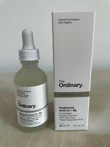 100% GENUINE The Ordinary Hyaluronic Acid 2%+B5 60ml New in Box
