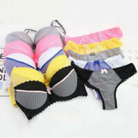 WOMEN LACE EXTREME PUSH UP BRA SET PANTIES BRIEFS LADIES UNDERWEAR PADDED AABCDE