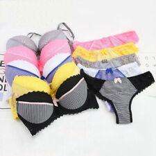 Women Full Coverage Bras Lace Flowers Push up Underwire  Bra Underwear #1481