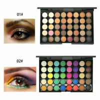 40 Colors Eyeshadow Cream Eye Shadow Makeup Cosmetic Matte Palette Shimmer Set