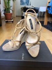 Pilar Abril - Plateau Sumer Pumps - wie neu getragen, Gr. 39 Sandale High heel