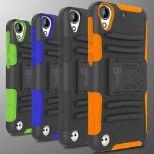 Hybrid Kickstand Case & Holster For HTC Desire 530 / Desire 630 Belt Cover