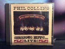 Phil Collins Serious Hits Live! CD Album PCCD1 1990 Pop