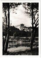 Ansichtskarte Donaustauf - Blick zur Gedenkstätte Walhalla - schwarz/weiß