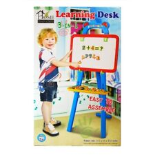 """3 in 1 Learning Desk Easel Drawing Set Easy Assembled 17.5 x 15 x 37.2"""""""