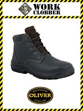Oliver Claret High Ankle Lace Up Boot 26636 Non-Safety NEW WITH TAGS!