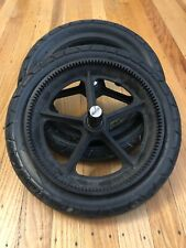 Bugaboo Frog Back Side Rear Black Wheels Tires for Stroller Replacement