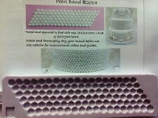 Karen Davies Pearl Band / Beads Sugarcraft mould FAST SHIPPING!