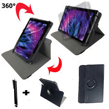 7 Pollici Tablet Borsa-Point of View Mobii i550 Guscio Astuccio - 360 ° NERO 7