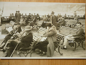 c1930's BOURNEMOUTH - REAL PHOTO POSTCARD BY BAILEY'S