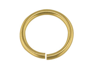 Gold Jump Ring 9ct Yellow Gold 4mm 5mm 6mm 7mm 8mm Open, O Ring Jewellery Ring