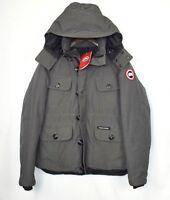 Canada Goose Gray Selkirk Sz XL 100% Authentic Down Parka Men's Coat Jacket