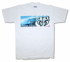 """THE BEACH BOYS """"SURF STRIP"""" WAVE SURFIN' USA WHITE T-SHIRT NEW ADULT OFFICIAL L"""