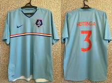 Netherlands John Heitinga #3 Holland Football Soccer Jersey Shirt Nike Mens XXL