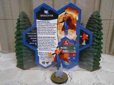 Heroscape Custom Eradicator Double Sided Card & Figure w/ Sleeve DC