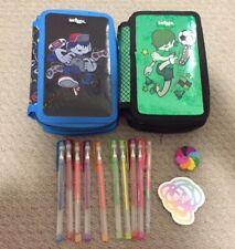 2 X Smiggle pencil case,smiggle Gel Pens