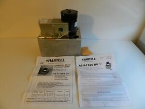 Hartell Milton Roy A2-X-1965 DV Plenum Rated Condensate Pump 115 / 230 volts