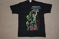 ARMY OF DARKNESS LOGO TRAPPED IN TIME SURROUNDED BY EVIL T SHIRT SMALL NEW FILM