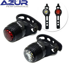 Azur Cyclops USB 40/60 Lm Bicycle Light Set - Front and Rear Alloy Body