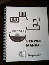 AMI E-80 & 120 Jukebox Service & Parts Manual