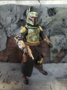 "Custom Star Wars Black Series 6"" Figure H4H Mandalorian Boba Fett"