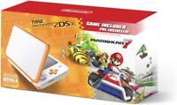 New Nintendo 2DS XL - Orange + White With Mario Kart 7 Pre-installed