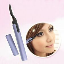 Portable Hot Electric Heated Eyelash Curler Eye Lashes Long Lasting Pen Style