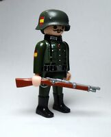 PLAYMOBIL ☆ CUSTOM SERIE WW2 ☆ DIVISIÓN AZUL # 1 ☆ SOLDIER GERMAN