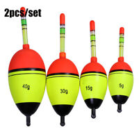 Plastic Fishing Night Float Ball Boia Light Stick Eva Foam Bobber