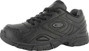Hi-Tec XT115 Niños Negro Carbón Zapatillas con Cordones Cierre (R27B)
