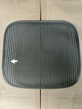 Herman Miller Aeron Chair Seat Mesh Black Pellicle With Blemish Size B 505