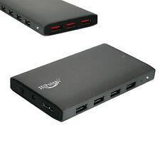 Alimentato USB 3.0 HUB 7 PORTE + Charger 5 Gbps per PC portatile estensione esterno