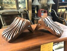 Pair Antique Architectucal Wooden Couch Arm Ends?? Or Re Purpose