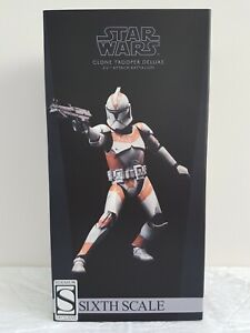 Sideshow Exclusive Star Wars Clone Trooper Deluxe 212th Attack Battalion 1/6