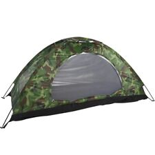 1 Person Outdoor Camping Waterproof 4 Season Family Tent Camouflage Hiking US