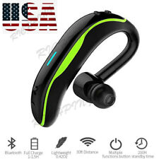 Bluetooth Earpiece Voice Control Wireless Headset for iPhone Samsung Motorola Lg