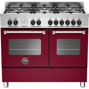 Bertazzoni Master Series MAS100-6-MFE-D-VIE 100cm Dual Fuel Range  RRP £2,195 ++