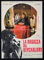 Werbeplakat S11 Die Mädchen Der Bersagliere Alessandro Blasetti Granat Retter