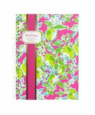 LILLY PULITZER Mini Notebook PINK LEMONADE 160 College Ruled Journal Pages NEW