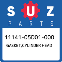 11141-05D01-000 Suzuki Gasket,cylinder head 1114105D01000, New Genuine OEM Part