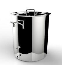 Chapman Brewing Equipment Heavy Kettler - 15 Gallon Stainless Induction Brew Pot