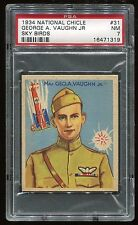 1933-34 National Chicle Sky Birds #031 Geo. A. Vaughn PSA 7 NM Cert #16471319