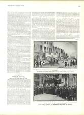 1905 Crown Prince George Serbia Scandinavian Rupture Brighton Vanguard Motor Bus